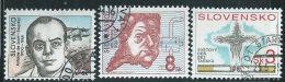 Slovacchia1994 Usato - Mi.189/90;192  Yv.154/55;157 - Slovacchia