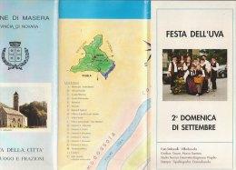 B0978 - PIANTA DELLA CITTA' CAPOLUOGO E FRAZIONI COMUNE DI MASERA - NOVARA/VILLA CASELLI/ASILO INFANTILE - Europa