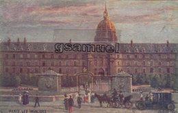 """Illustrateurs - Signés > Tuck, Raphael  - Oilette """" TUCK """" - Paris Les Invalides. - (voir Scan). - Tuck, Raphael"""
