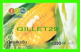 TÉLÉCARTES THAILANDE - BLÉ D'INDE - CORN - 300 BAHT - JUNE/2004 - PHONECARDS THAILAND - - Télécartes
