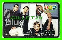 TÉLÉCARTES THAILANDE - BLUE - 300 BAHT - DEC/2004 - PHONECARDS THAILAND - - Phonecards