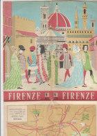 B0990 - MAPPA - PIANTA FIRENZE - MUSEI-PALAZZI-TEATRI-UNIV ERSITA'-CHIESE-PARCHI E GIARDINI Azienda Turismo 1971 - Europa