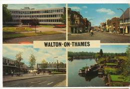 Walton On Thames  Multi View 1970 Shopping Center - Surrey