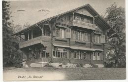Geneve Pub P. Spring Fabrique De Chalets Suisses Ecrite Par Spring 1912 La Retraite - GE Geneva