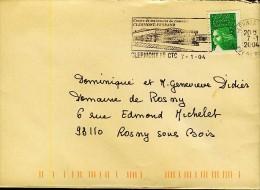 France Clermont Ferrand Centre De Traitement Du Courrier  N°312 - Post