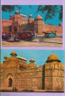 INDE -  2 CPSM - DELHI -  RED FORT - India