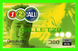 TÉLÉCARTES THAILANDE - ONE-2-CALL - JEUNE COUPLE - 300 BAHT - DEC/2003 - PHONECARDS THAILAND - - Thaïlande
