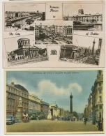 2 Cards Of Dublin One Postally Used 1955 - Dublin