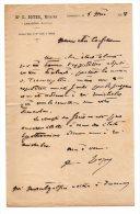Me C. Boyer, Otaire à Lamastre (Ardèche) - 1908 - Manoscritti