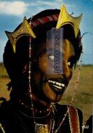 NIGER - Jeune Homme Tatoué PEULH BORORO - Tatouage. -  (voir Scan Recto-verso). - Niger