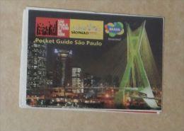 Pocket Guide De Poche SAO PAULO Brésil - Amérique