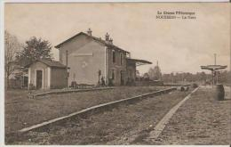 Nouziers.  La Gare. - France