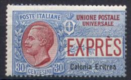 Eritrea 1907 Espressi Sass.Ex2 **/MNH VF/F - Eritrea