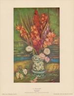 SOUBRY :Prent/Image 13–4: Vincent VAN GOGH : ## Gladiolen / Glaïeuls ## - Prints & Engravings
