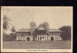 LANGKAT        TIMBRE  INDES NEELANDAISE              CIRCULEE  EN  1919 - Indonesia