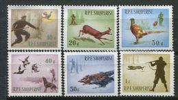 ALBANIE 1965 - Chasse Au Faisan, Chevreuil, Sanglier, Lievre, ..... -  Neuf Sans Charniere (Yvert 809/14) - Albania