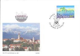 Slovenia Slowenien Postal Stationery Card 1994: CYCLING 77. GIRO D'ITALIA; 12. STAGE IN KRANJ - Slowenien