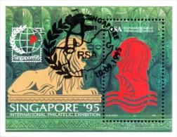 South Africa - 1995 Singapore ´95 MS (o) # SG 883 , Mi Block 37I - Blocchi & Foglietti