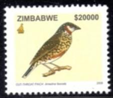 Zimbabwe - 2005 Birds $20000 Weaver (**) # SG 1150 - Vogels