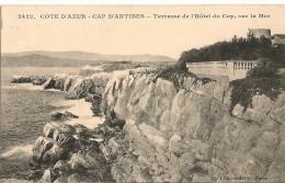 CAP  D´ANTIBES    Terrasse De L´Hôtel Du Cap,sur La Mer - Antibes