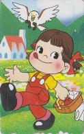 Télécarte Japon / 110-132964 - PEKO & POKO / Oiseau Hibou Owl Bird - BD Comics Japan Phonecard Telefonkarte - 57 - BD