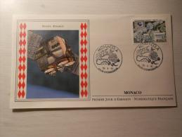 ENVELOPPE - MONACO - Europa Inmarsat - 1er Jour - 26/04/199/ - FDC