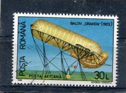 ROMANIA. 1993. SCOTT C285. BALLOONS CAPTURED BY ROMANIAN ARMY : GERMAN BALLOON, DRAKEN, 1903 - Poste Aérienne