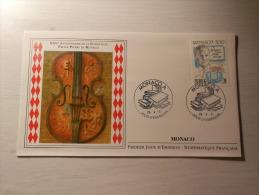 ENVELOPPE - MONACO - XXVe Anniversaire De La Fondation Prince Pierre De Monaco - 1er Jour - 26/04/1991 - FDC