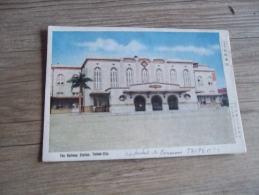 FORMOSE TAINAN CITY THE RAIWAY STATION  @ RECTO VERSO AVEC BORDS - Formose