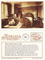 Postcard Mrs David Joel Bedroom Knightsbridge 1929 Other People´s Home Nostalgia Repro - Fashion