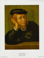 SOUBRY :Prent/Image 15–4: RAFFAELLO SANZIO :  ## De Schilder Als Jonge Man / Portrait Du Peintre Jeune ## - Estampas & Grabados