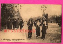 La Mode Nouvelle - Les Jupes Pantalon - Au Bois - La Porte Dauphine - Carte Vierge - The New Fashion - Skirts Pants - Moda