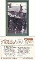 Postcard Life On The Dole Unemployment Newcastle Family 1939 Nostalgia Repro - History