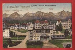 ADI-007 Vysoké Tatry  High Tatras   Novy-Smokovec. Non Circulé. - Slovaquie