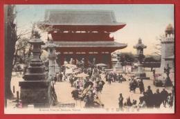 ASI-007 Tokyo Kannon Temple Asakusa, Non Circulated - Tokyo