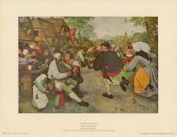 SOUBRY :Prent/Image 16–4: P. BREUGEL, De Oude : ## Boerendans / Danse Des Paysans ## - Prints & Engravings