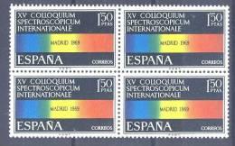 España 1924 ** B4. Espectroscopio 1969 - 1931-Hoy: 2ª República - ... Juan Carlos I