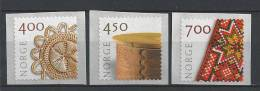 Norvège,  2001  N°1318/1320  Neufs**, Artisanat - Norvegia