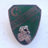 Badge / Pin (Cycling) - Egypt 2nd Tour D'Egypte 1955 - Cycling