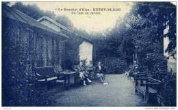 """95-BUTRY-Hôtel-restaurant        """"Le Brochet D´Oise""""Un Coin Du Jardin-.animée - Butry"""