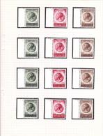 991-993  Plnr. 1-4 - Zegels ** MNH - Plakker In De Rand - Cote 40 € - ....-1960