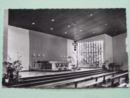 ACHEL Kerk Van De H. Kruisvinding Binnenzicht - Anno 196? ( Zie Foto Details ) !! - Hamont-Achel