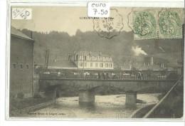 -CPA 54- -LONGWY BAS-------LE PONT-2-------1906---MAGAS INS REUNIS- -- - Longwy