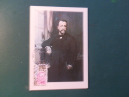 38/172  MAXI CARTE  FRANCE PASTEUR  OBL.  DOLE - Louis Pasteur