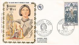 FDC France 1968: Jeanne D'Arc - 1960-1969