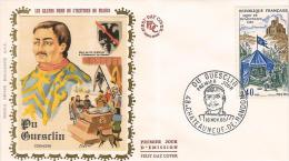 FDC France 1968: Du Guesclin - 1960-1969