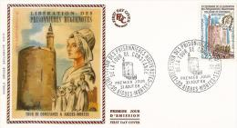 FDC France 1968: Bicentenaire De La Libération Des Huguenottes De La Citadelle D'Aigues-Mortes - 1960-1969