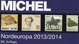 MICHEL Nord-Europa 2014 Katalog Neu 60€ Band 5 Briefmarken Nordeuropa Stamps Finnland Lettland Litauen Norwegen Schweden - Unclassified