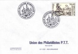 Rueil Malmaison 92 - BT 1983 - Société Philatélique - église - Marcofilie (Brieven)