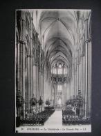 Bourges.-La Cathedrale.-La Grande Nef - Centre-Val De Loire